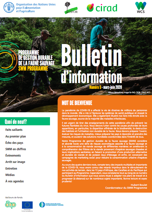Sustainable Wildlife Management (SWM) Programme Newsletter