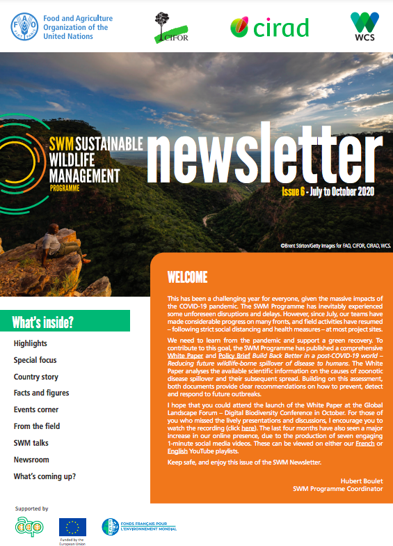 Sustainable Wildlife Management (SWM) Programme Newsletter - Issue 6